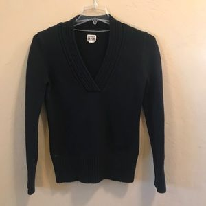 Converse One Star - navy V neck sweater